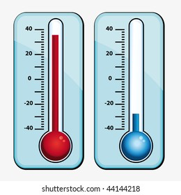 Thermometers set.