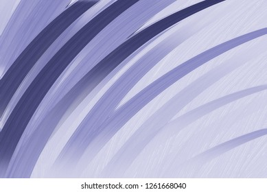 thick stripes or curving lines of dark and light purple paint with brush stroke texture in soft pretty pastel background layout