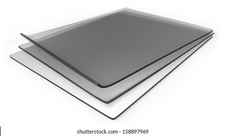 Thick transparent silicone rubber sheets