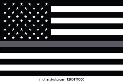 Thin Grey Silver Line Flag for Corrections Officers. Support for Corrections Agents Flag. Corrections Officers responder. Flags of Valor. Show your support for Corrections enforcement