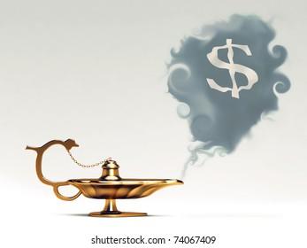 This is Aladdin's lamp.