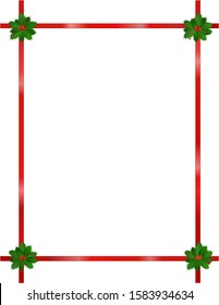 Free Christmas Clipart Borders Frames Images Stock Photos Vectors Shutterstock