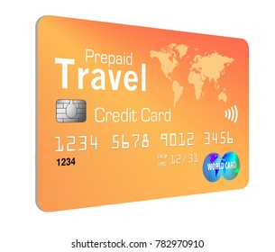 Prepaid travel credit card images stock photos vectors shutterstock this is a generic prepaid travel credit card these cards make transactions convenient while traveling reheart Image collections