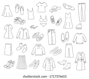 this is icon set of clothes.