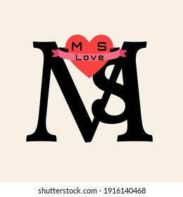Ms Love Hd Stock Images Shutterstock Free for commercial use no attribution required high quality images. https www shutterstock com image illustration this image can be perfect letter 1916140468