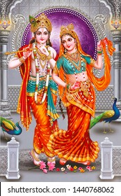 this image is decorative in home tiles printing and wallpaper object by radha krishna