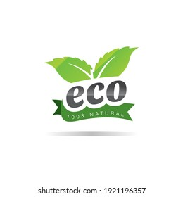 this is a  logo of a bunch of leaves for ecological or nature friendly purpose on a white background