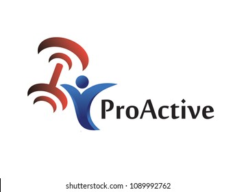 This is a ProActive logo used for many purposes.New concept.