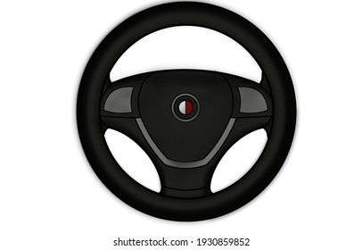 this is a steering wheel illustration