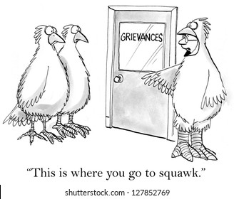 """""""This is where you go to squawk."""""""