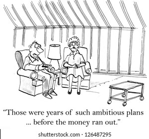"""""""Those were years of such ambitious plans ... before the money ran out."""""""