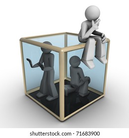 Three Dimensional People - Thinking Outside the Box