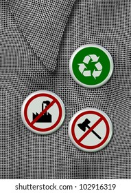 Recycle Pin Images, Stock Photos & Vectors | Shutterstock