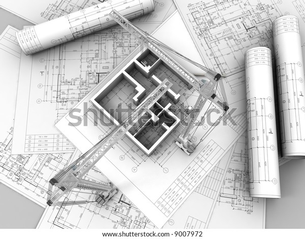 Three-dimensional drawing