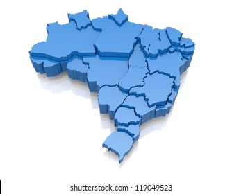 Brazil Map Images, Stock Photos & Vectors | Shutterstock