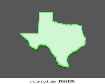 Learning About State Texas USA Map Stock Illustration 1178036302 ...