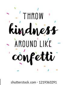 Kindness Confetti Images Stock Photos Vectors Shutterstock