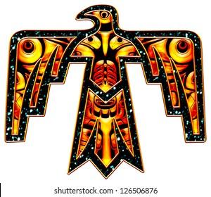 Thunderbird - Native American Indian Symbol