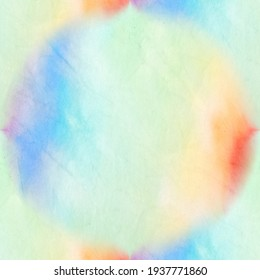 Tie Dye Batik. Bright Watercolor Dirty Art. Endless Tie Dye Pattern. Watercolor Seamless Background. Trendy Acrylic Illustration. Aquarelle Fabric. Organic Hand Drawn Tie Dye.