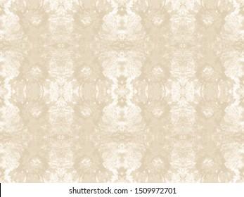 Tie Dye Drawing. Ecru Ink Chinese Art. Batik Ikat Design. Sand Background. Wash Tie Dyeing. Taupe Seamless Floral Motif. Shibori Design. Soybean Texture. Desert Sands Decoration.
