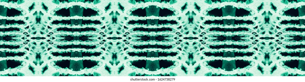 Tie Dye Shibori. Watercolor Shade. Paper Stains. Traditional Boho Ornament. Shibori Boundless Backdrop. Distressed Illustration. Aquamarine,Black Blot Tie Dye Shibori.