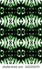 Tie Dye Shibori. Watercolour Wash. Splatter Backdrop. Green,Black,White Psychedelic Colors Wallpaper. Continuous Illustration. Shibori Endless Template. Cute Tie Dye Shibori.
