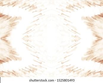 Tie Dye Wash. Ivory Hippie Style. Japanese Ikat. Almond Wallpaper. Shibori Dyeing. Seamless Geo Optical Tile. Dip Dyed Fabric. Vanilla Soft Grey Design. Off White Background.