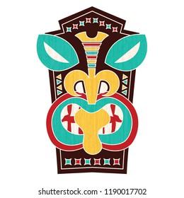 A Tiki Tribal Mask
