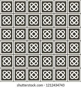 Tile el Panot de Flor Rosa de Barcelona Gray Pattern