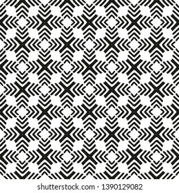Tile pattern with black and white background