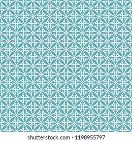 Tile pattern or mint green and white wallpaper background