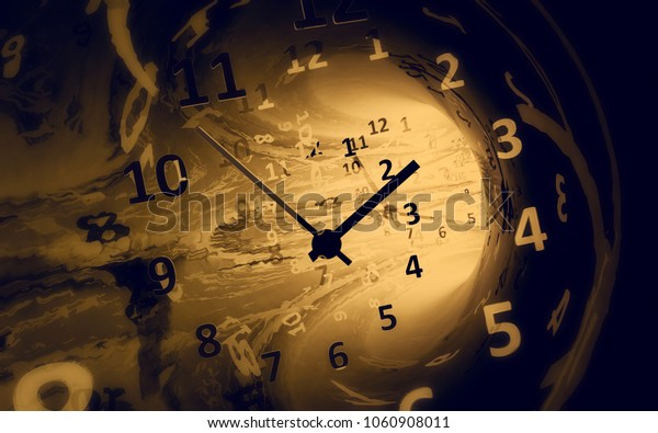 Time. 3d illustration