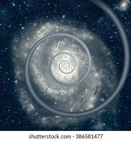 Time Warp - Time Dilation. Quantum mechanics meets general relativity.
