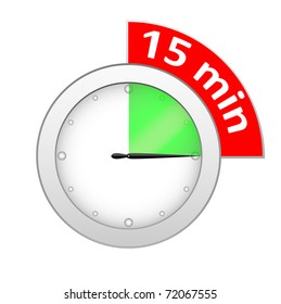 Timer 15 minutes