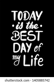 Happiest Day of My Life Black and White Clip Arts