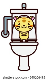 Toilet and Animal Series