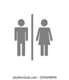 Toilet Sign Single Icon