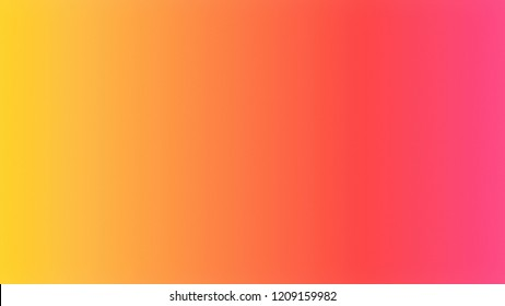 Tomato Red, Yellow Orange color. A modern gradient texture background with space for text, degrading fragments and a smooth shape of transition and changing colors.