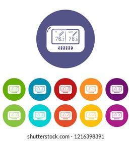 Tonometer icon. Simple illustration of tonometer icon for web