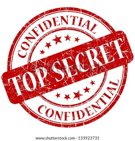 Top Secret Stamp Stockillustration 133923731 Shutterstock