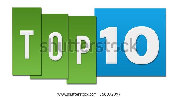 Top Ten Green Blue Stripes