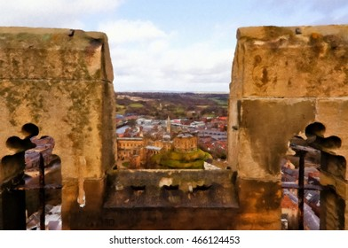 Durham City University Stock Illustrations Images Vectors