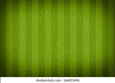 Top view of stripped soccer filed without white lines. (org. size: 2999x2000 px)