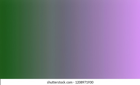 Topaz Violet, Tom Thumb Green color. A modern gradient texture background with space for text, degrading fragments and a smooth shape of transition and changing colors.