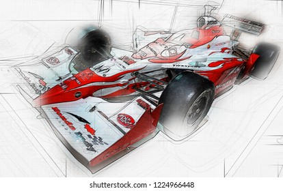 TORONTO,CANADA-February 11,2010:Honda Indy starting from 1993 was not matched by any manufacturer in211 race victories, 15 driver's championships and 10 Indianapolis 500