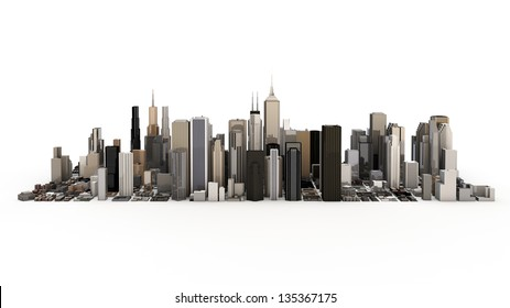 town and city