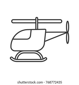 Helicopter Line Drawing Images, Stock Photos & Vectors