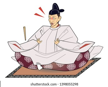"""""""Toyotomi Hideyoshi"""" is one of Japan's famous warlords. It has the nickname """"monkey""""."""
