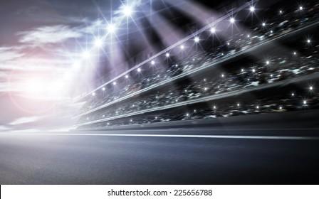 Track arena