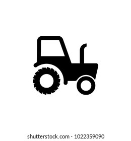 tractor icon. Elements of transport icon. Premium quality graphic design icon. Signs and symbols collection icon for websites, web design, mobile app on white background